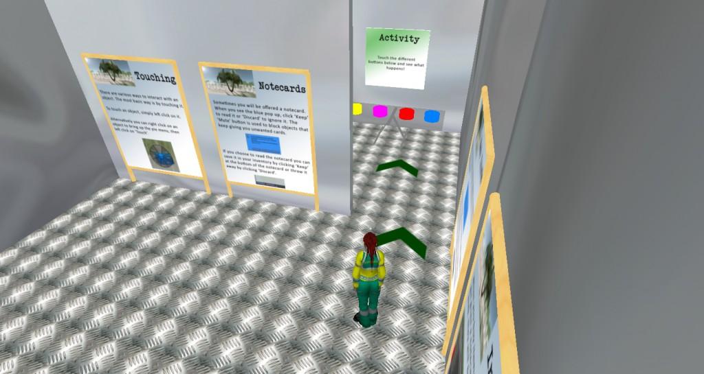 Orientation Maze Second Life